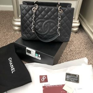 Caviar CHANEL Grand Shopping Tote